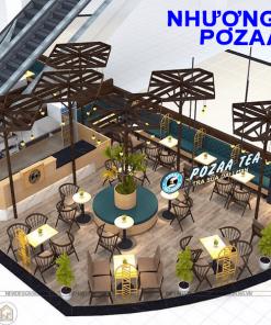 Pozaa Trung tâm thương mại