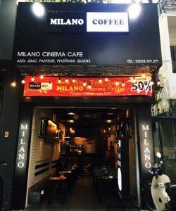 nhượng quyền milano coffee