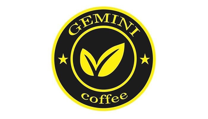 Logo thương hiệu cà phê Gemini