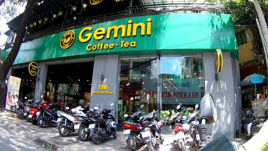 Cửa hàng Cafe Gemini