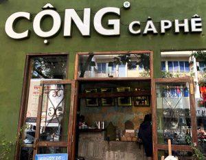 Quán cafe Cộng