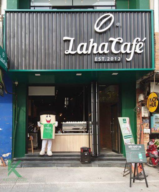Nhượng quyền Laha- Kiosk