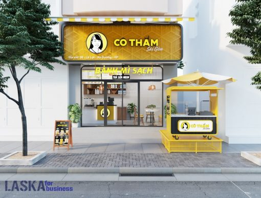 Mô hình 3D Cô Thắm Sài Gòn