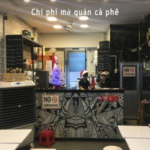 Chi phí mở quán café