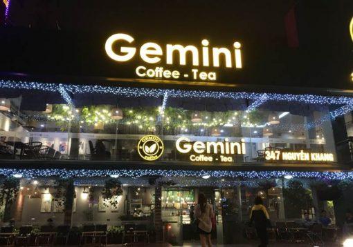 Thương hiệu cafe Gemini