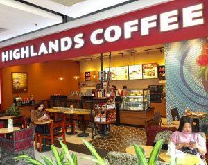Nhượng quyền Highlands Coffee