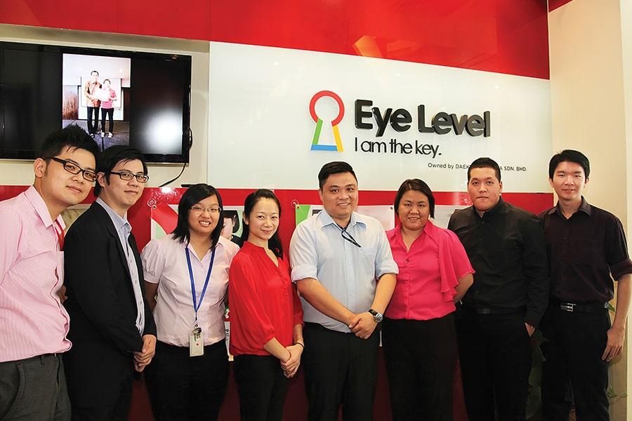 đội ngũ nhân sự của eye level