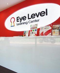 logo nhượng quyền eye level