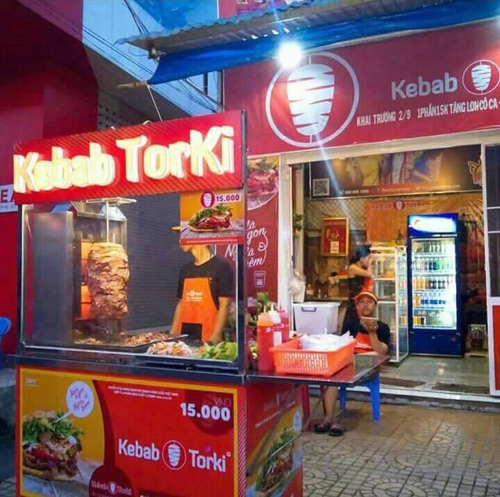 Xe đẩy bánh mì Thổ Nhĩ Kỳ