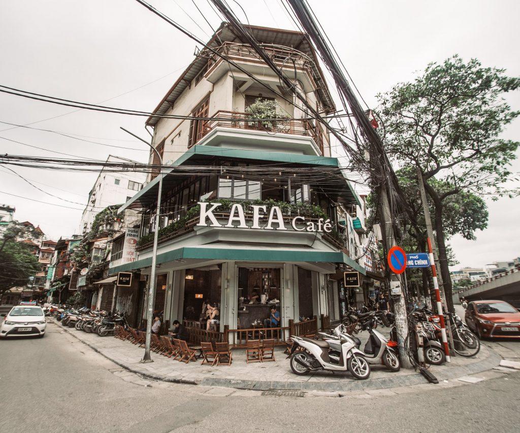 Giá nhượng quyền kafa cafe