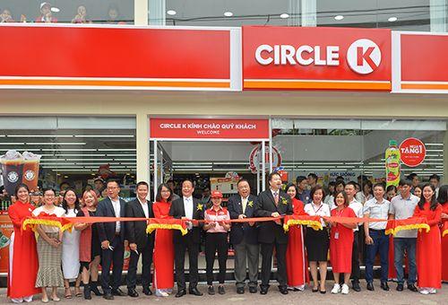 Khai trương cửa hàng nhượng quyền Circle K