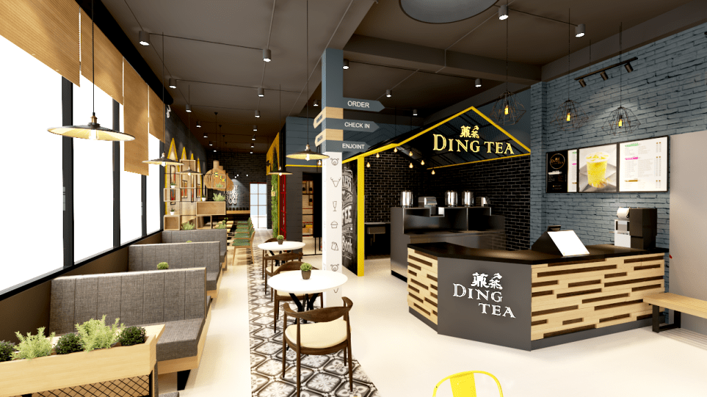 Không gian của Ding Tea