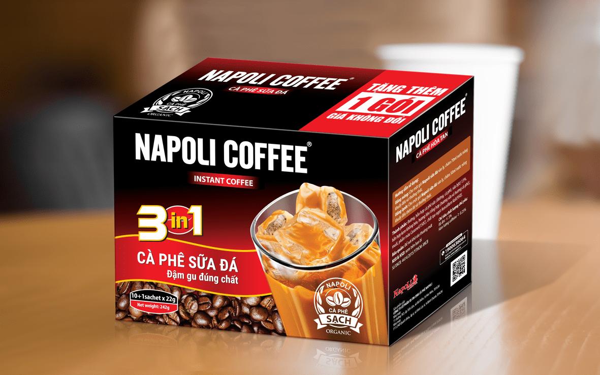 Cafe đóng gói của Napoli