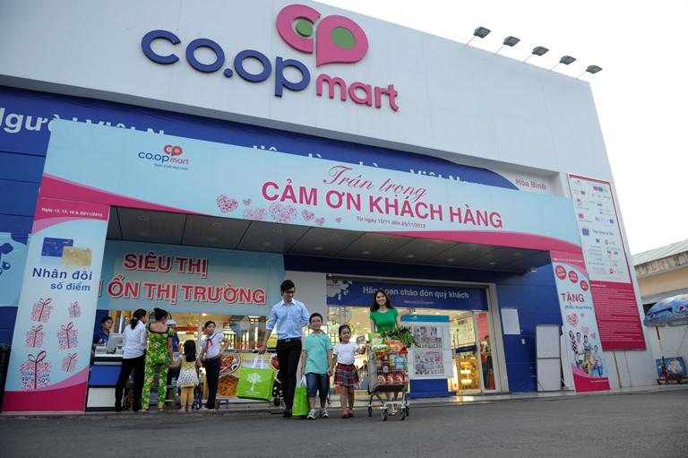 Chuỗi bán lẻ hàng tiêu dùng nhanh Co.opmart