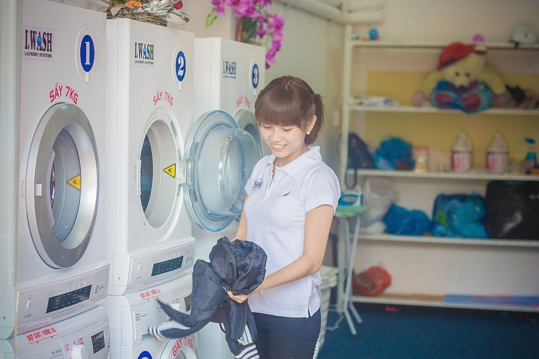 Kinh doanh dịch vụ giặt là