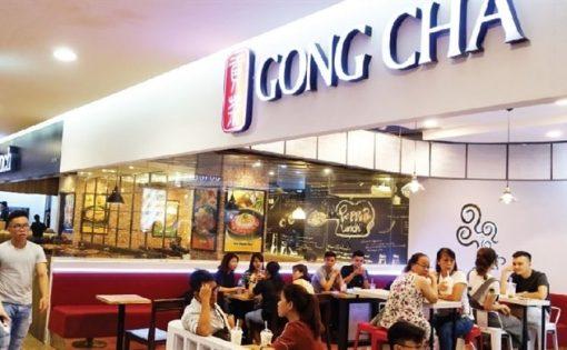 quán trà sữa nhượng quyền Gong Cha