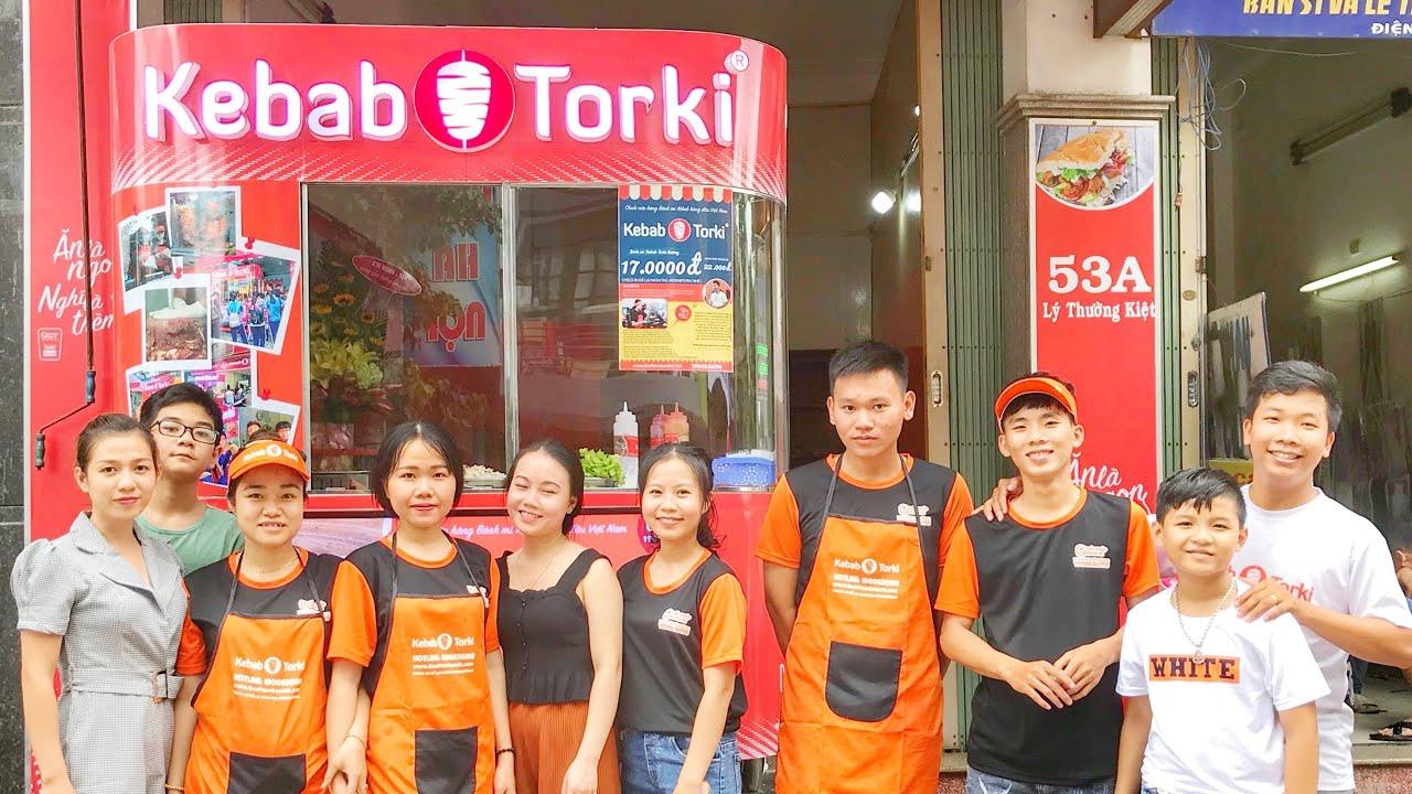Nhượng quyền bánh mì Thổ Nhĩ Kỳ Kebab Torki