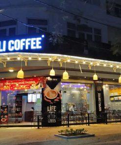 Cafe Napoli phong cách Ý