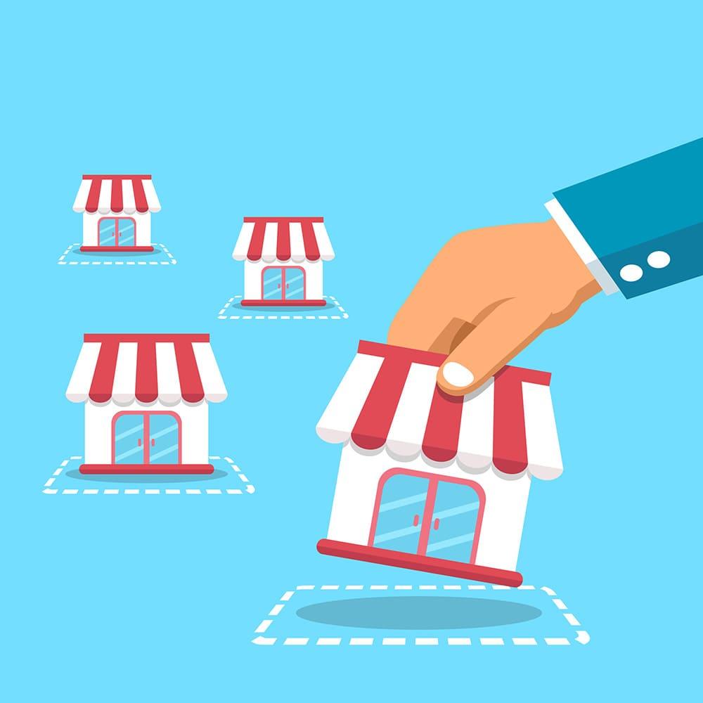 Các bước xây dựng cửa hàng nhượng quyền