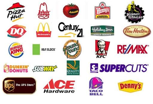 Các thương hiệu nhượng quyền