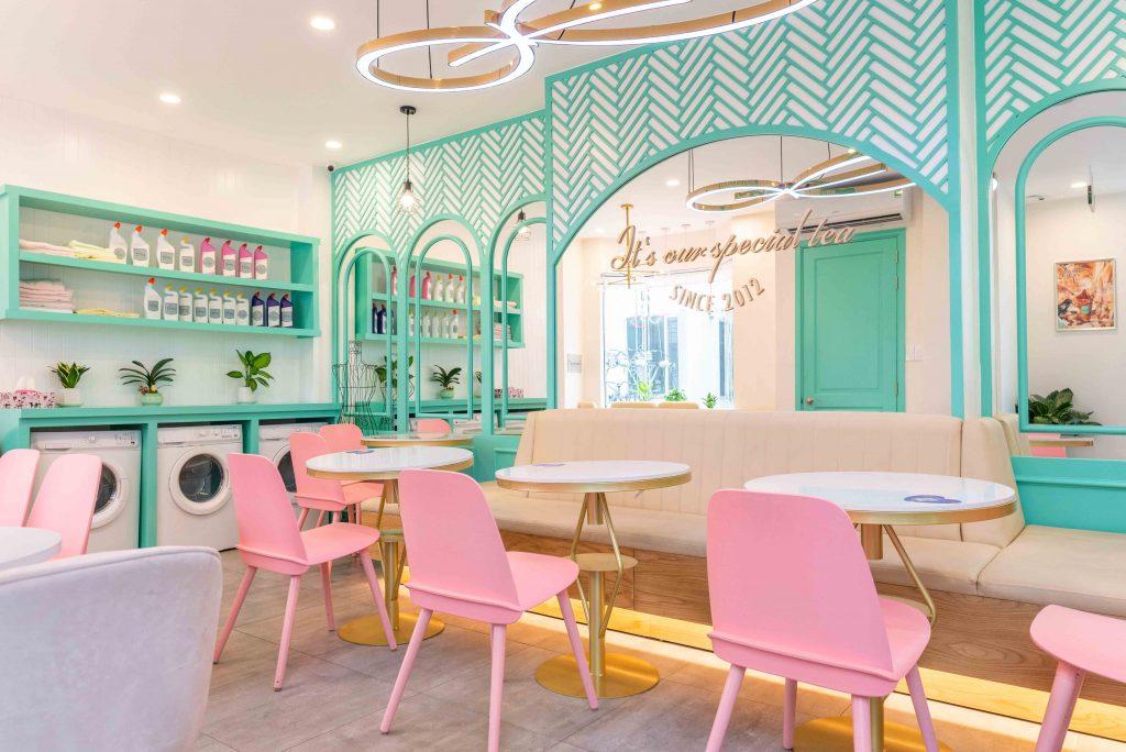 Không gian hồng Pastel của Winnies