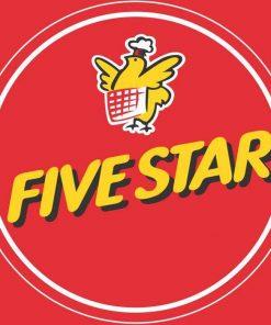 Logo nhượng quyền gà rán Five Star