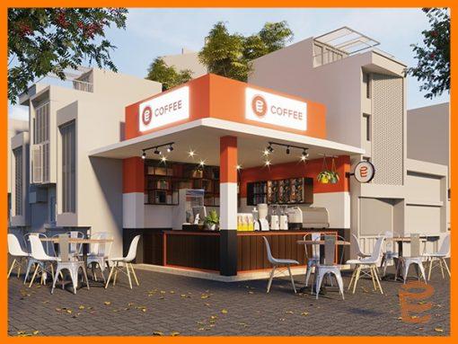 Mô hình nhượng quyền E Coffee