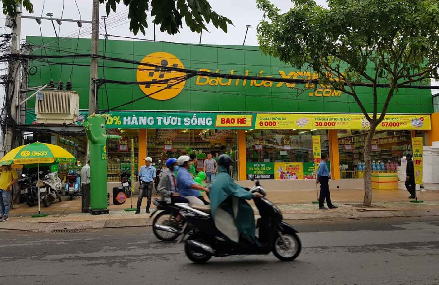 Chuỗi siêu thị mini Bách Hóa Xanh
