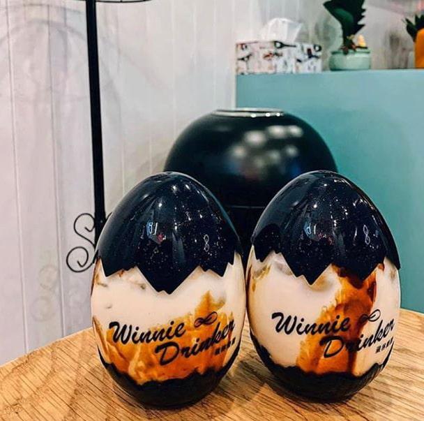 Trà sữa trứng Winnies