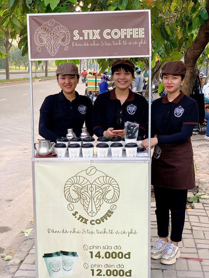 Nhượng quyền cafe mang đi của Stix Coffee